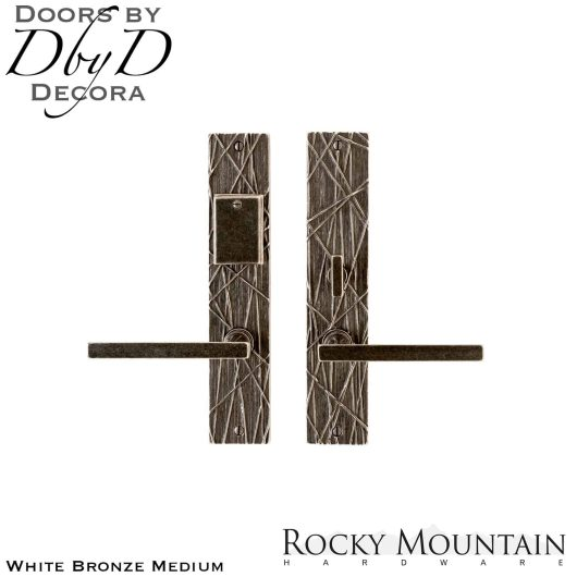 Rocky Mountain white bronze medium e168/e166 edge entry set.