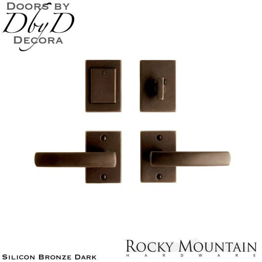 Rocky Mountain silicon bronze dark e205/e205 metro entry set.