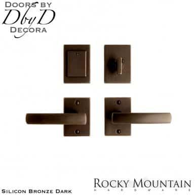 Rocky Mountain silicon bronze dark e205/e205 metro entry set.