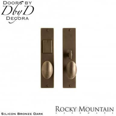 Rocky Mountain silicon bronze dark e209/e207 metro entry set.