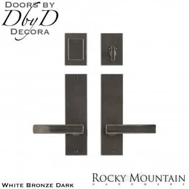 Rocky Mountain white bronze dark e210/e210 metro entry set.