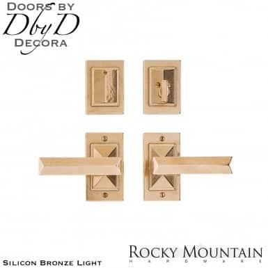 Rocky Mountain silicon bronze light e21005/e21005 mack entry set.