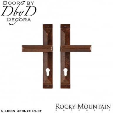 Rocky Mountain silicon bronze rust e21046/e21046 mack multi-point entry set.