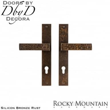 Rocky Mountain silicon bronze rust e30368/e30368 trousdale multi-point entry set.