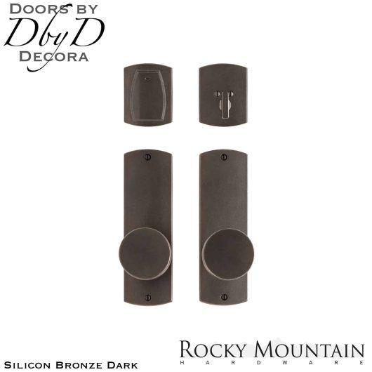 Rocky Mountain silicon bronze dark e30506/e30506 convex entry set.