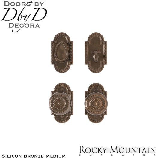 Rocky Mountain e30603/e30603 corbel arched entry set.