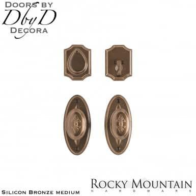 Rocky Mountain silicon bronze medium e30806/e30806 oval bordeaux entry set.