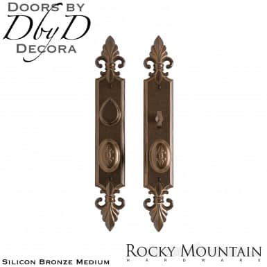 Rocky Mountain silicon bronze medium e30812/e30811 bordeaux entry set.