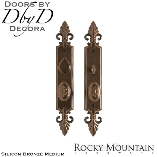 Rocky Mountain silicon bronze medium e30812/e30811 bordeaux entry set.