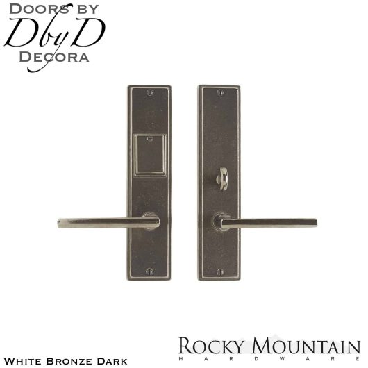 Rocky Mountain white bronze dark e311/e313 stepped entry set.
