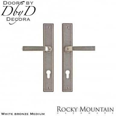 Rocky Mountain white bronze medium e332/e332 stepped multi-point entry set.