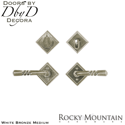 Rocky Mountain white bronze medium e415/e415 diamond entry set.