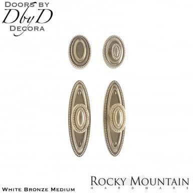 Rocky Mountain white bronze medium e588/e588 maddox entry set.