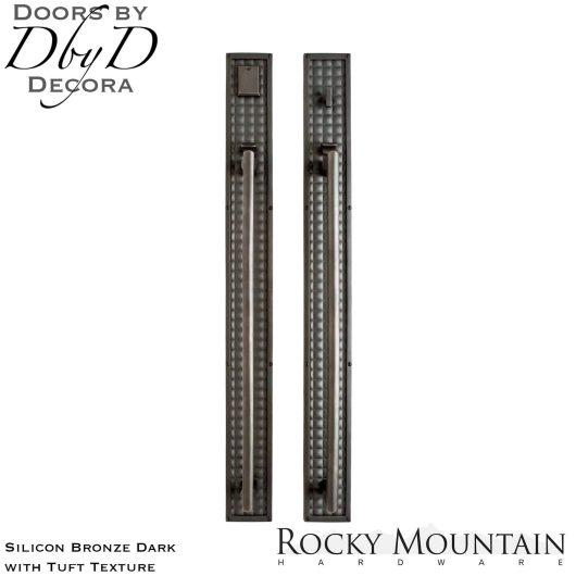 Rocky Mountain silicon bronze dark g145/g146 tuft handleset.