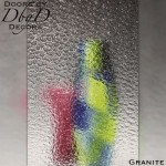 Spectrum granite glass.