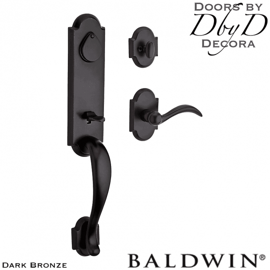 Baldwin reserve dark bronze kodiak handleset.