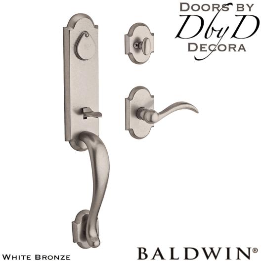 Baldwin reserve white bronze kodiak handleset.