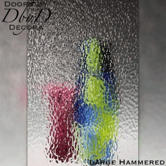 Spectrum large hammered glass.