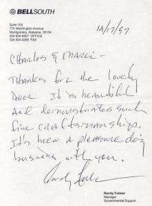 Fulmer customer testimonial.