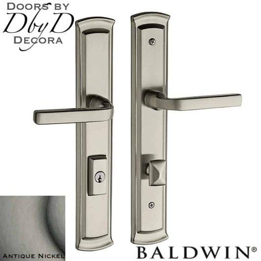 Baldwin antique nickel richland multi-point entry set.