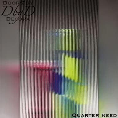 Spectrum quarter reed glass.