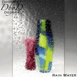Spectrum rain water glass.