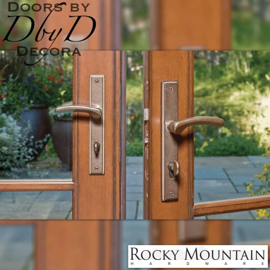 Rocky Mountain stepped multi-point entry set.