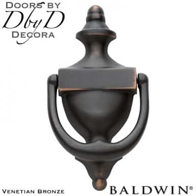 Baldwin venetian bronze 0102 door knocker.