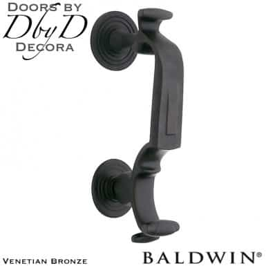 Baldwin venetian bronze 0113 door knocker.