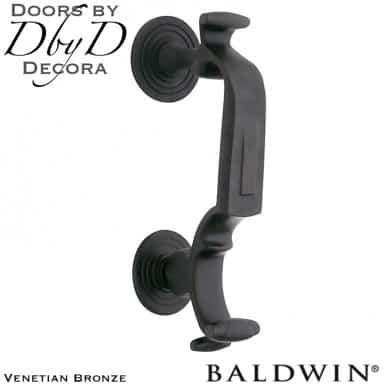Baldwin venetian bronze 0113 door knocker.
