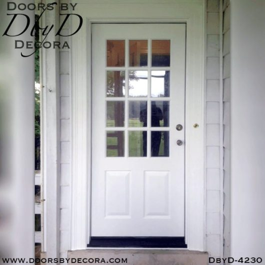 craftsman custom twelve lite door