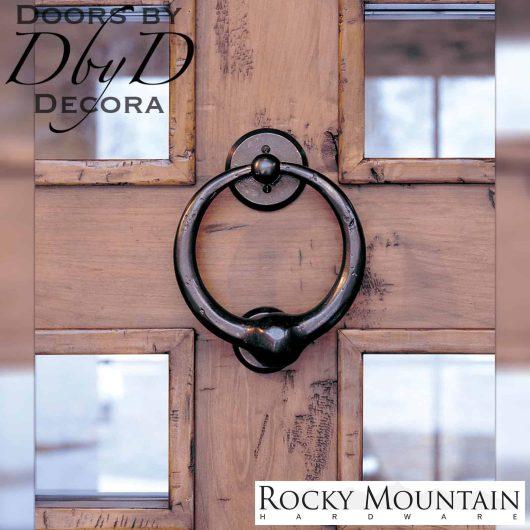 Rocky Mountain dk2 bronze door knocker.