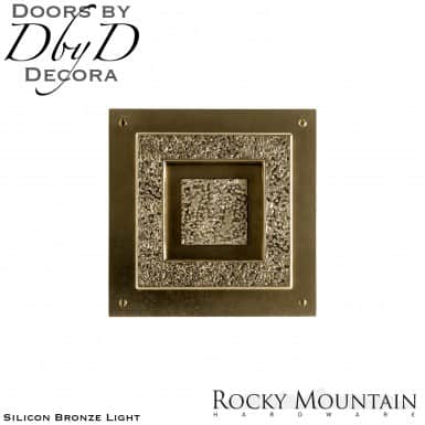 Rocky Mountain silicon bronze light dk30300 door knocker.