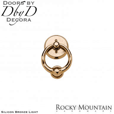 Rocky Mountain silicon bronze light dk4 door knocker.
