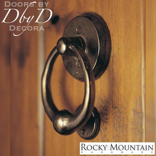 Rocky Mountain dk4 bronze door knocker.