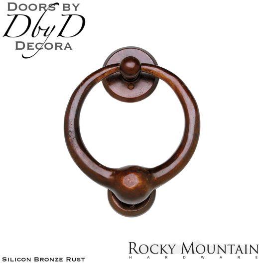 Rocky Mountain silicon bronze rust dk7 door knocker.