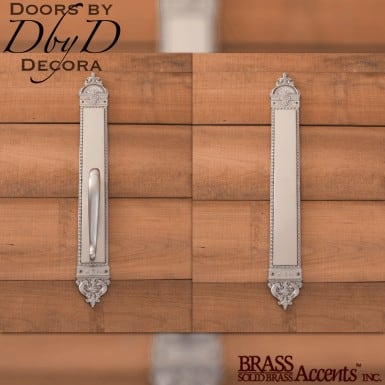 Brass Accents euro push/pull set.