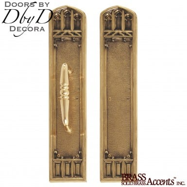 Brass Accents oxford push/pull set.