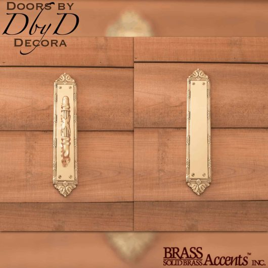 Brass Accents ribbon & reed push/pull set.
