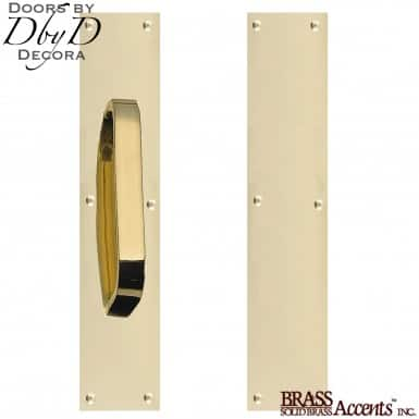 Brass Accents standard push/pull set.