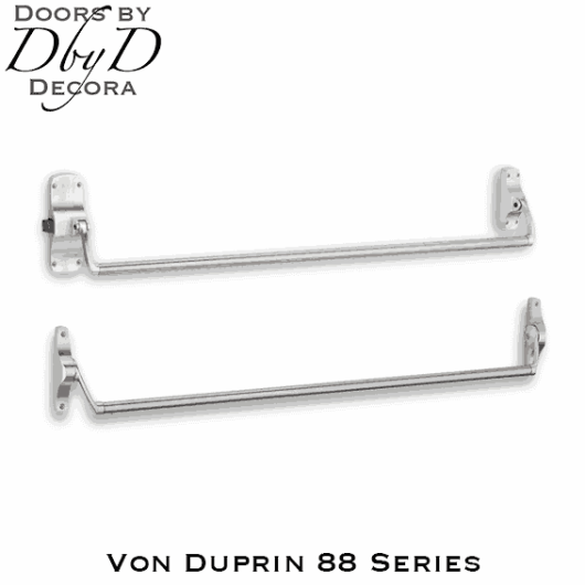 Von Duprin 88 series exit/panic hardware.