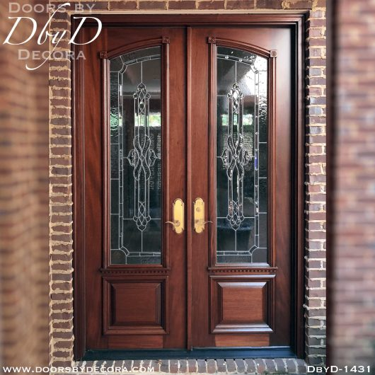estate double doors with glass