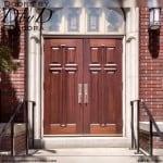 church 4-panel cross doors
