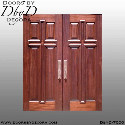 church 4-panel cross doors