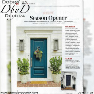 estate Southern Living door