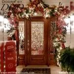 estate leaded glass door
