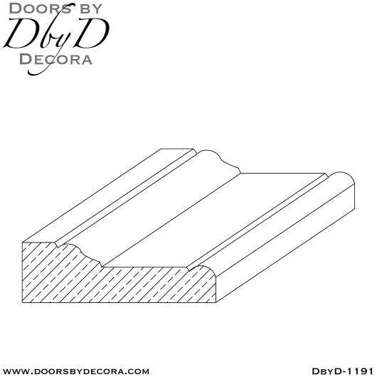 DbyD-1193 Adams interior casing