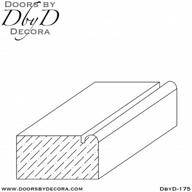 dbyd-175 beaded brick mold