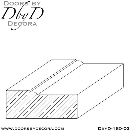 DbyD-180-03 brick mold