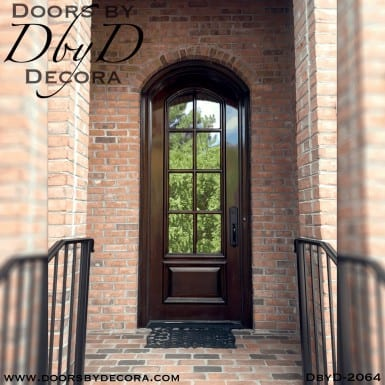 french country segment top door